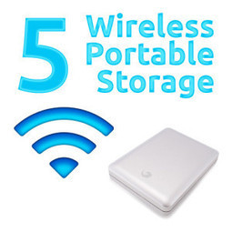 Top 5 Wireless Portable Hard Drives | ColourMyLearning | Scoop.it