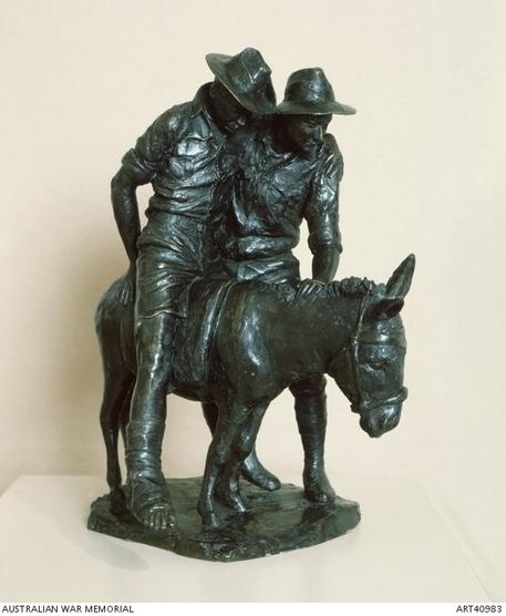 John Simpson Kirkpatrick: Simpson and his donkey | Australian War Memorial | The Anzac Legend | Scoop.it