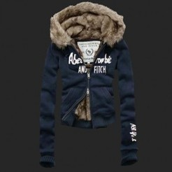 A&F Vrouwen Fur Hoody Mantels Marine Bruin | Women Cloth | Scoop.it