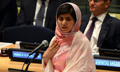 Malala Yousafzai: 'Our books and our pens are the most powerful weapons' | THIRD-WORLD COUNTRIES & MALALA YOUSAFZAI | Scoop.it