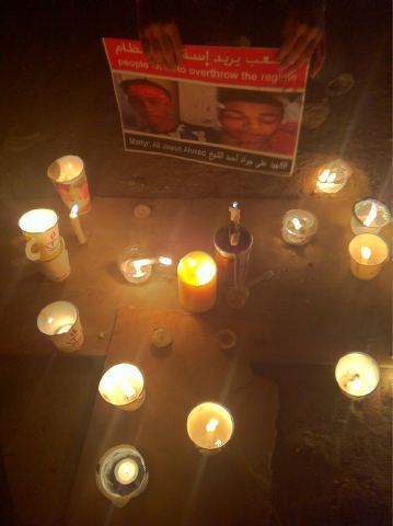 Candles vigil in remembrance and honoring Ali Jawad Al Shaikh | Human Rights and the Will to be free | Scoop.it