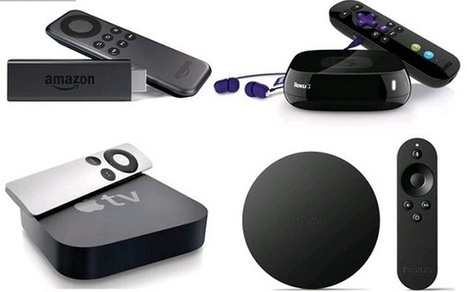 Battle of the Best Streaming TV Devices: Amazon Fire TV Stick vs Roku 3 vs Apple TV vs Google Nexus Player | eCommerce News | Scoop.it