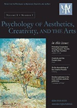 Special Issue: Neuroaesthetics and the Neurobiology of Aesthetic Production | The Creative Brain | Scoop.it