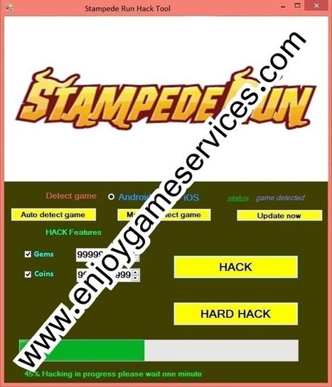 Stampede Run Hack Tool | game | Scoop.it