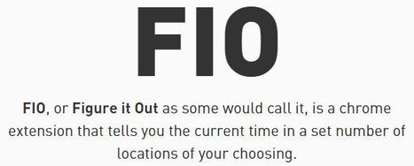 FIO - Figure it Out | technologies | Scoop.it