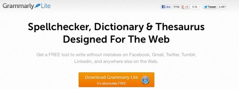 Grammarly Lite — Spellchecker Designed For The Web | Scriveners' Trappings | Scoop.it