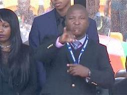Sign language interpreter made 'no sense' at Mandela memorial - Video on NBCNews.com | Sports, America | Scoop.it