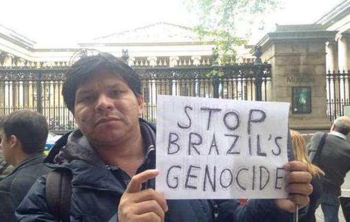 Jeux olympiques 2016 : un leader guarani se rend en Europe pour révéler la 'face cachée du Brésil' | Survival International | Amériques | Scoop.it