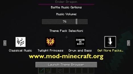 Battle Music Mod 1.7.4/1.7.2/1.6.4 for Minecraft | Gameing | Scoop.it