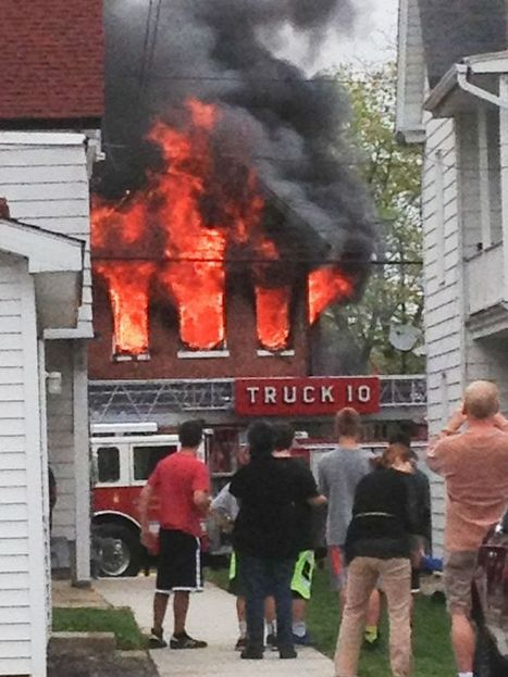Firefighter injured, 7 displaced in apartment fire - Carlisle Sentinel | OHS in EMS and Fire & Rescue #OHS Quest | Scoop.it