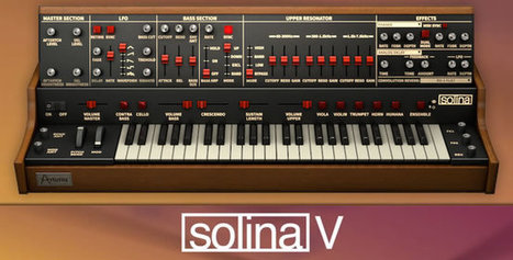 Review: Solina V Virtual String Synth Instrument by Arturia   Sleep and Dreams   Scoop.it