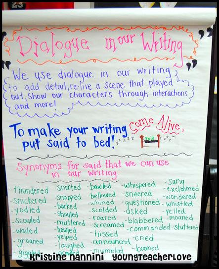 YoungTeacherLove: Writing Dialogue Part 1 | School Stuff | Scoop.it