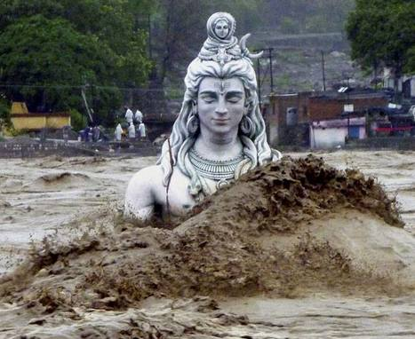 LORD SHIVA STATUE - DID NOT MOVE AN INCH. | UTTARAKHAND FLOODS AND LAND SLIDES | Scoop.it