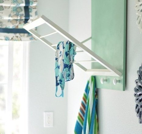 DIY Laundry Room Drying Rack  Centsational Girl | DIY | Do-it-yourself | How To's | Tips | Scoop.it