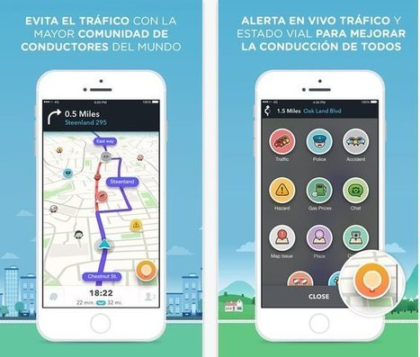 Waze para iOS ya aprovecha el 3D Touch | #GoogleMaps | Scoop.it