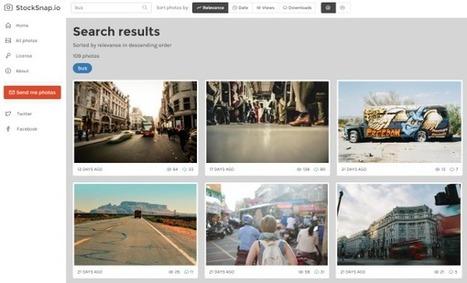 StockSnap : des photos de qualité et totalement libres de droit - Blog du Modérateur | Ressources pour la Technologie au College | Scoop.it