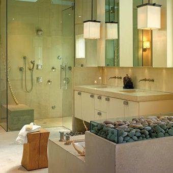 How To Create A Zen-Inspired Bathroom   Home Decor   Scoop.it