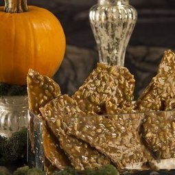 Recipes: Pumpkin sunflower seed brittle with vanilla and pepper | Healthy Cooking Magazine | Scoop.it