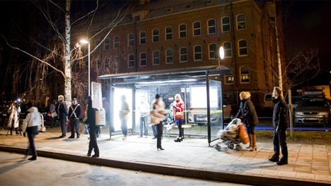 Energy Company Brightens Bus Shelters to Fight Seasonal Depression | Psychology of Consumer Behaviour | Scoop.it