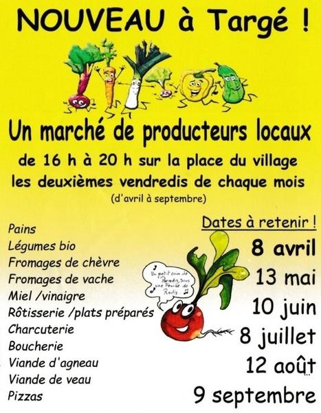 Un marché à Targé | Chatellerault, secouez-moi, secouez-moi! | Scoop.it