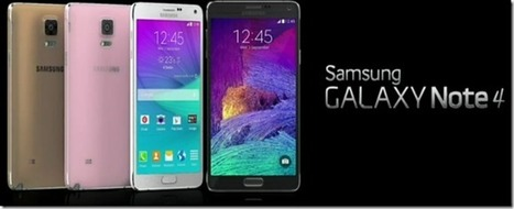 The Gadget Code: Phablet is the New Flagship: Samsung Announce the Galaxy Note 4 | Technology | Scoop.it