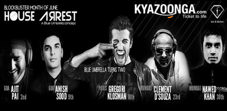 House Arrest | KyaZoonga.com: Buy tickets online for House Arrest music, Bengaluru | Scoop.it