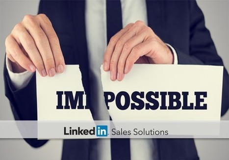 Three Sales Problems That Are Actually Opportunities | Social Selling:  with a focus on building business relationships online | Scoop.it