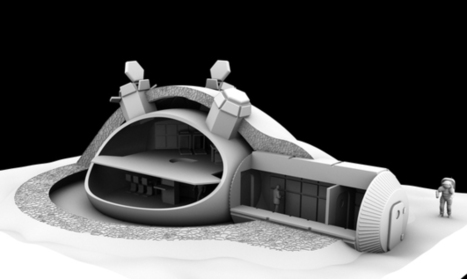 Building a Lunar Base with 3D Printing | 3d printers and 3d scanners | Scoop.it
