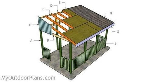 Lean To Gazebo Plans | MyOutdoorPlans | Free Woodworking Plans and Projects, DIY Shed, Wooden Playhouse, Pergola, Bbq | Garden Plans | Scoop.it