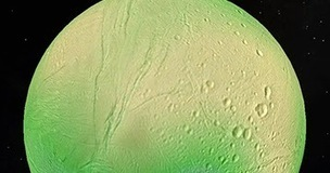 Next Big Future: An ocean lies a few kilometers beneath Saturn's moon Enceladus's icy surface which is thinner than early estimates | New Space | Scoop.it