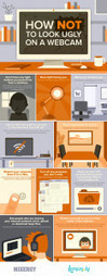 How Not to look Ugly on a Webcam: Webcam Tips Infographic - Lemonly | Daily Distractions | Scoop.it