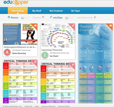 eduClipper - like Pinterest for Educators | Leadership Think Tank | Scoop.it