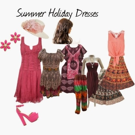 India Designs: Womens Holiday Dresses | Bohemian Skirt | Scoop.it