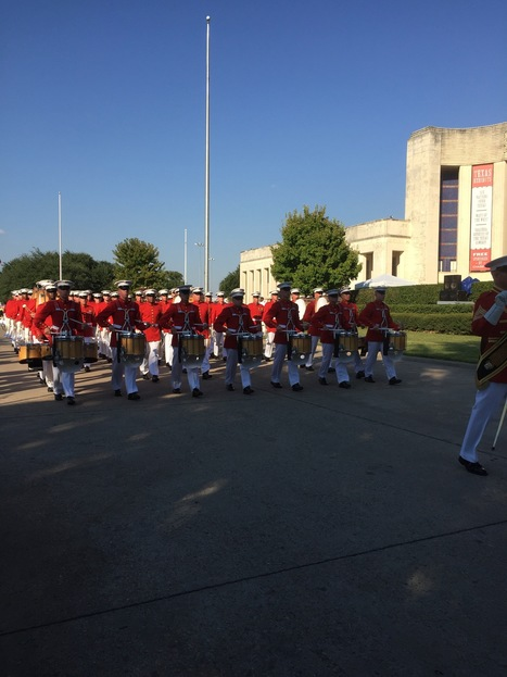 Marine Marching Band at the State Fair of Texas   Lottie Pop Pinwheels by Gustavo   Scoop.it