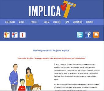 Biblioteca - Escola Sant Jordi Lleida: IMPLICA'T, La Marató   Aprendre a la biblioteca   Scoop.it