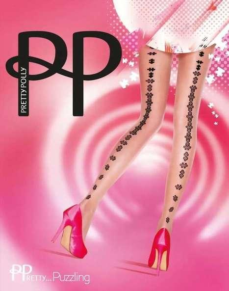 Trendy pantys met patroon in naad-optiek PPretty ... Puzzling van Pretty Polly nude-zwart, maat one size   pantys-boutique.nl   Pantys Kousen   Scoop.it
