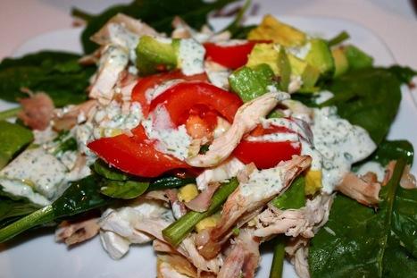 Enkla och Snabba Recept: Kycklingsallad med persiljedressing | Recept | Scoop.it