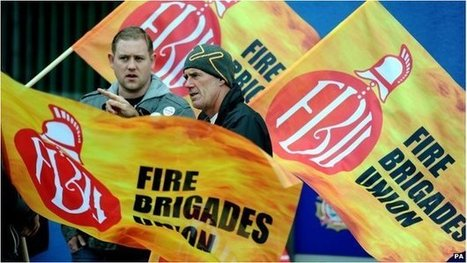 Firefighters plan four-day strike   F583 The Economics of work and leisure   Scoop.it
