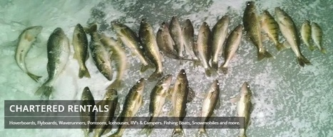 Ice Fishing @ Chartered-rentals.com | Wide range of Ice houses, Waverunners, Ski boats, RVs Campers around Minnesota | Scoop.it