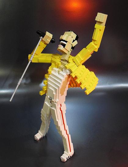 Lego Freddie Mercury | Visual Inspiration | Scoop.it