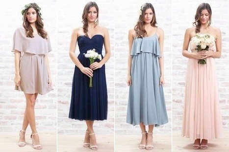 Lauren Conrad Introduces Bridesmaid Dresses to Paper Crown - StyleBistro | a la mode | Scoop.it