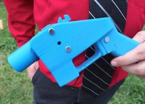 Can a 3-D Printing Company Stop People From Printing Their Own Guns? | Peer2Politics | Scoop.it