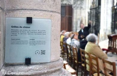 L'Office de tourisme de Sens (Yonne) mêle panneaux d'interprétation et QR Codes | observation réalité augmentée | Scoop.it