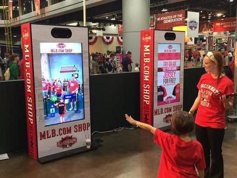 MLB.com Utilizes Virtual Mirrors To Promote All-Star Game Apparel | Psychology of Media & Emerging Technologies | Scoop.it
