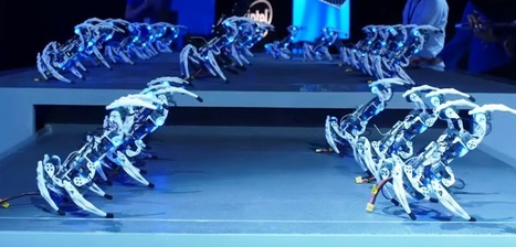 Spiderbots: Intel's Spider Robot Army | DigitAG& journal | Scoop.it