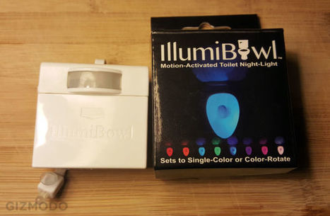 Illumibowl Is the Toilet Nightlight We All Hoped It Would Be | Innovative Products | Scoop.it