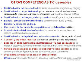 CHISPAS TIC Y EDUCACIÓN. Blog Pere Marquès: Hoja de ruta (1): Integrando las TIC en Educación | EDUCACIÓN 3.0 - EDUCATION 3.0 | Scoop.it