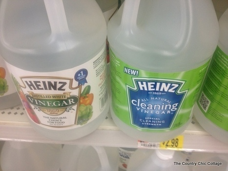 25 Tips for Naturally Cleaning with Vinegar #HeinzVinegar #cbias   Herbs, Essential Oils and Homemade Remedies   Scoop.it
