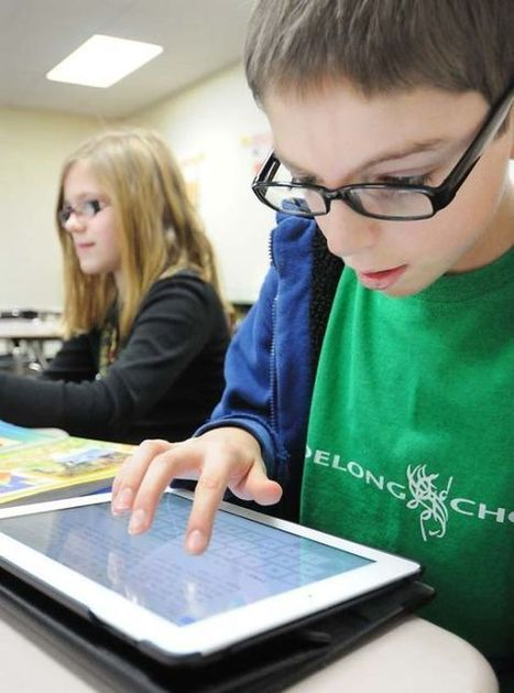 iPads changing way children in Eau Claire area learn in the classroom - Leader-Telegram | Technology in Education | Scoop.it