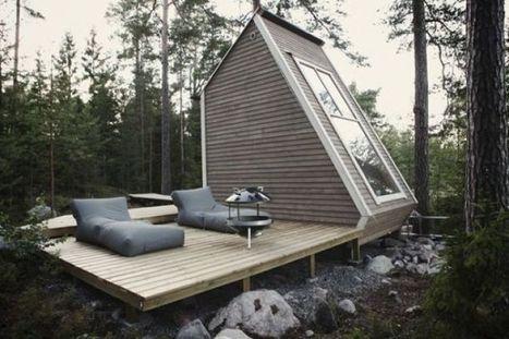 Una micro-casa finlandese di 9mq | Architettura, design, arredamento: le case più belle - LIVING INSIDE | Scoop.it